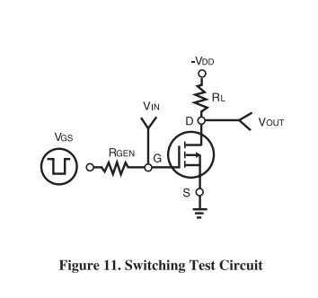 9953A switching test circuit