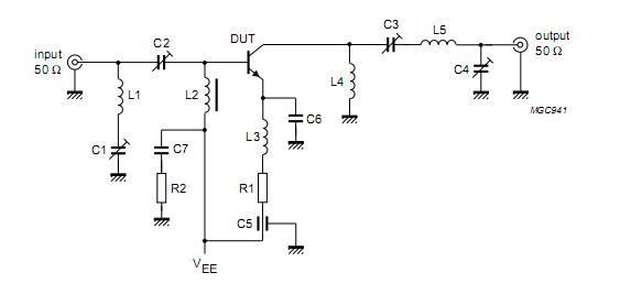 2N3866 circuit diagram