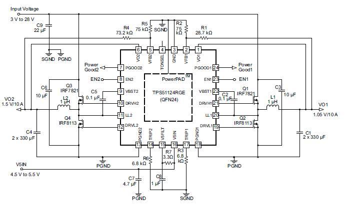 TPS51124 circuit