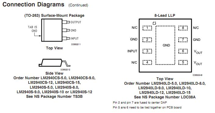 LM2940T block diagram