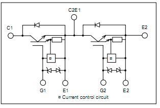 2MBI300NB-060-01 block diagram