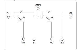 2MBI300S-120 block diagram