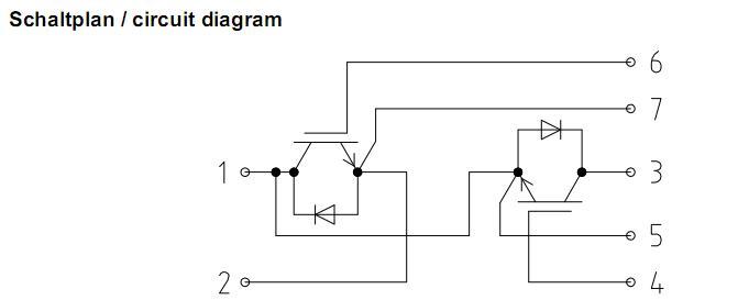 BSM150GB120DLC block diagram