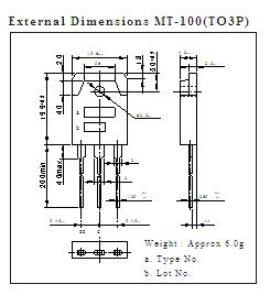 C3263 External Dimensions