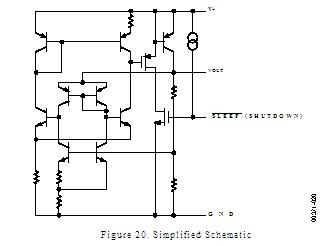 REF195GSZ Simplified Schematic
