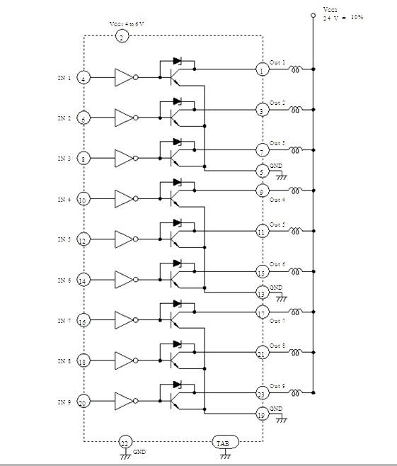 HA13408 Block Diagram