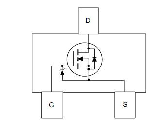 FDV303N-NL block diagram
