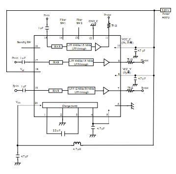 AN13208A-VB+ block diagram