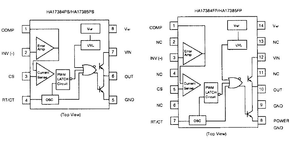 HA17385PS block diagram