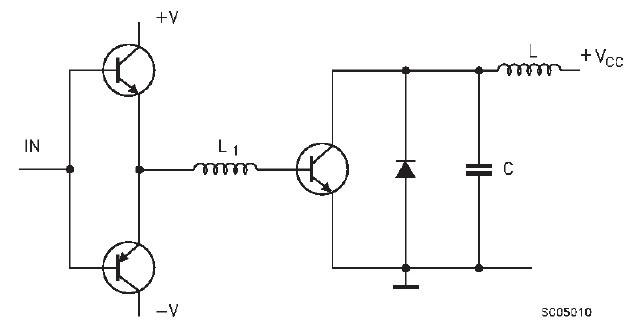 BU808DFI block diagram