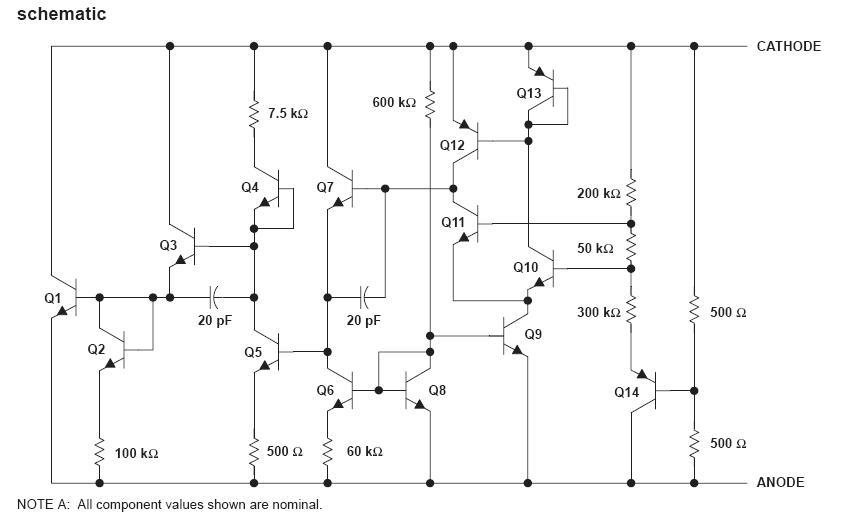 LM385BDR-2 block diagram