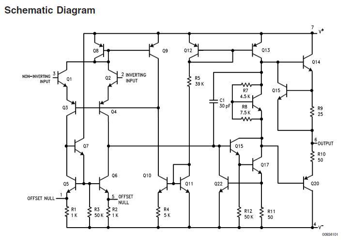 Схема управления электродвигателями постоянного тока.