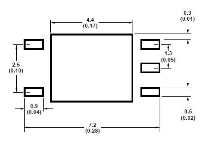 HCPL-M601 dimensions