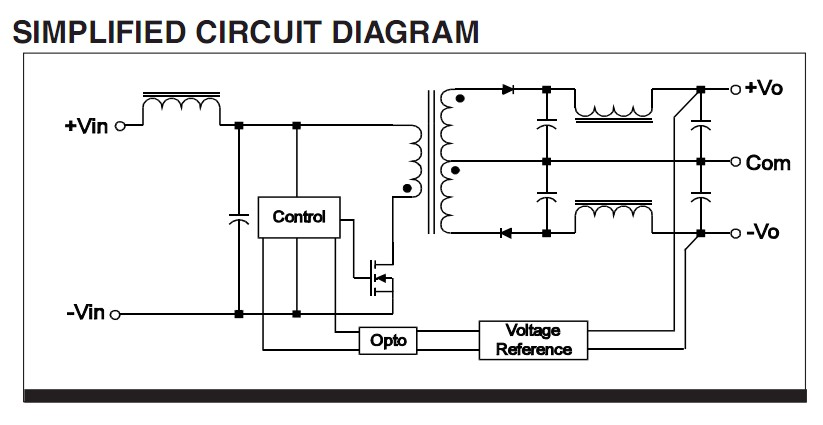 WFC02R48S05L circuit diagram