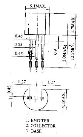 2SC3203 dimensions