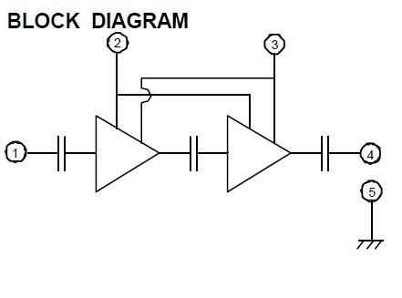RA13H3340M block diagram