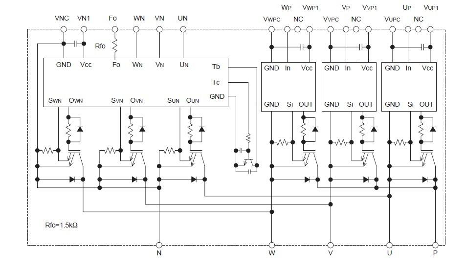 PM20CEE060-5 block diagram