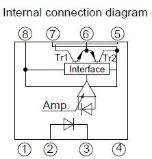 PC923 internal connection diagram