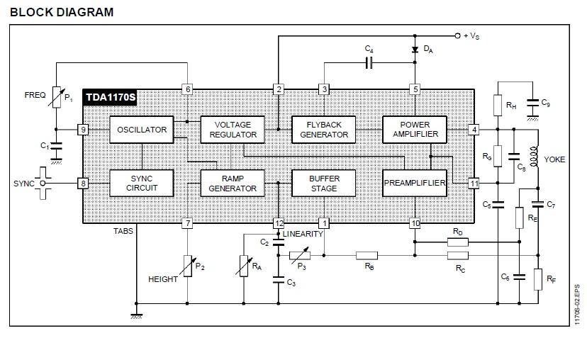 tda1170s datasheet pdf download