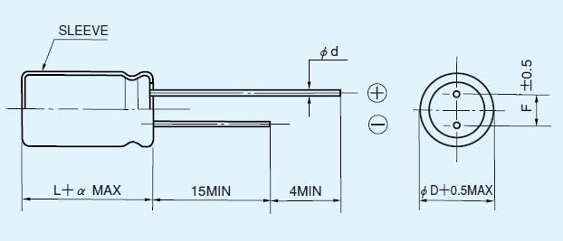 35ZLH330MCE10x12.5 dimensions