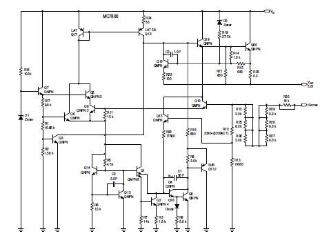 MC7805BDTRKG diagram