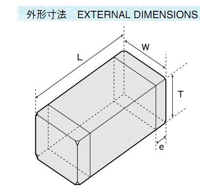 CB2012T220M external dimensions