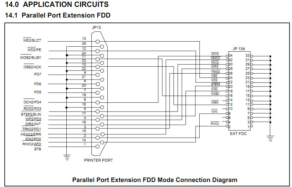 W83977TF-A application circuit
