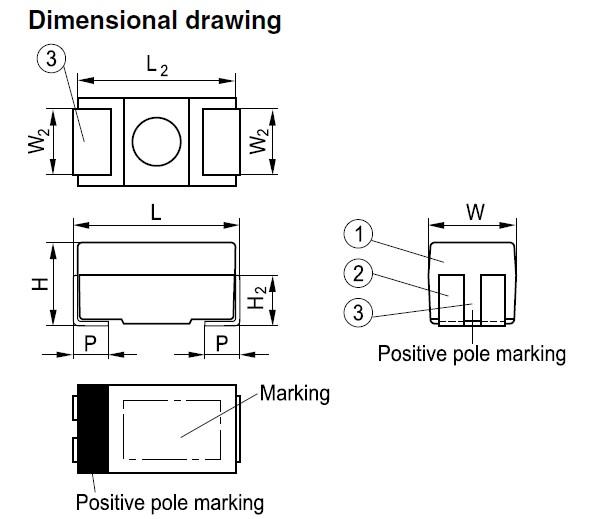 B45197A7106K509 dimensions