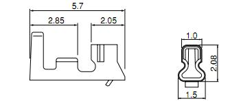 S6B-PH-SM4-TB dimensions