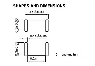 C2012X5R1C106M shape and dimensions