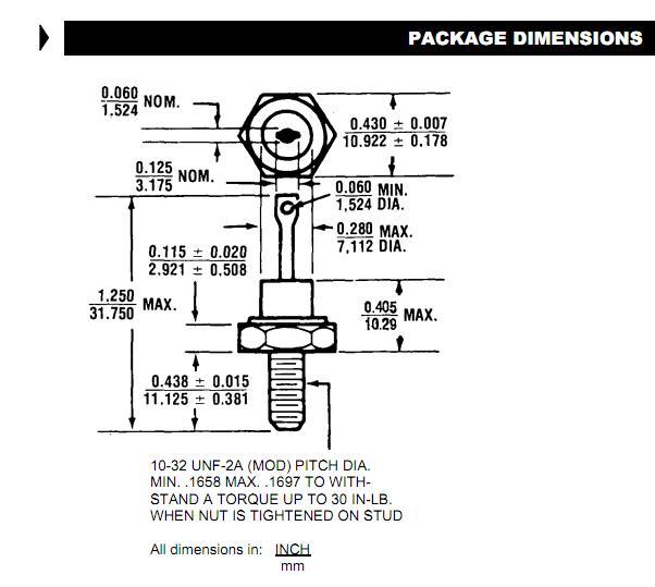 JAN1N2985RB dimensions