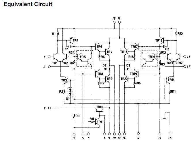 STK4182II block diagram