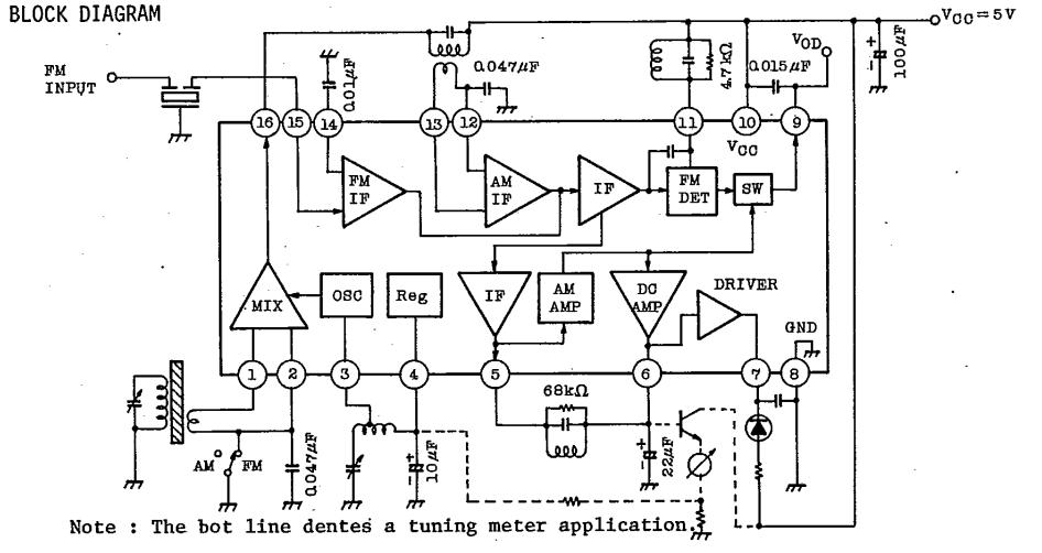 ta7640ap china  mainland  integrated circuits