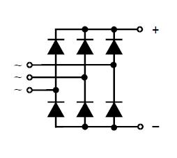 VUO110-12N07 circuit diagram