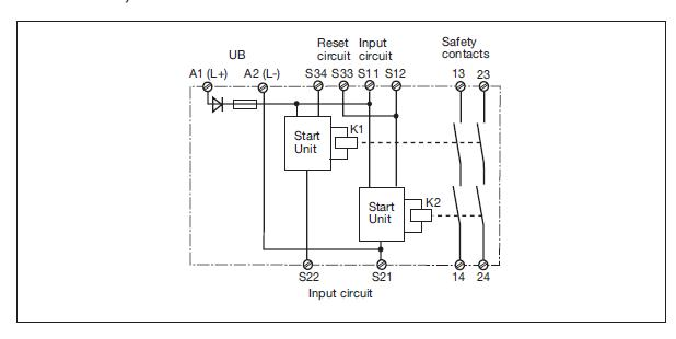 omron safety relay wiring diagram pilz safety relay wiring