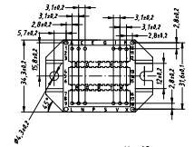 DSEI2X161-12P dimensions
