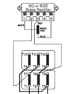 BGE 15 SEW rectifier BGE 15 on abb motor control wiring diagram