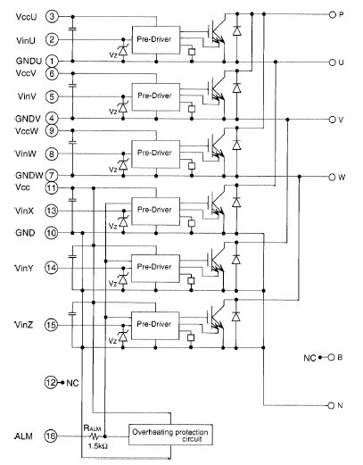 PM15RSH120 diagram