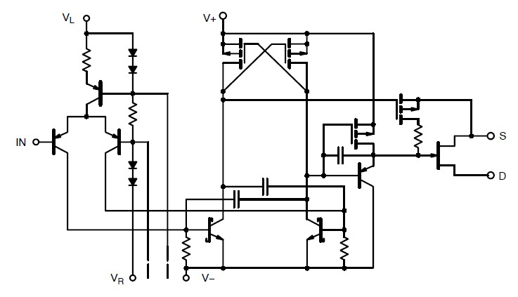jm38510/11108bxa block diagram