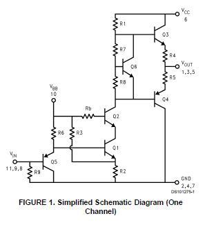 LM2413T block diagram