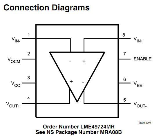 LME49724MR block diagram