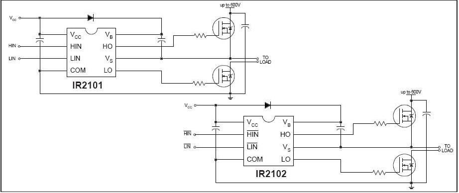 IR2102 block diagram