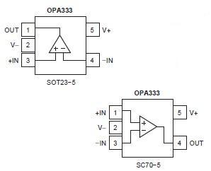 OPA333AIDCKR block diagram