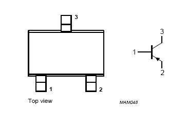 BC856W,115 Pin Configuration