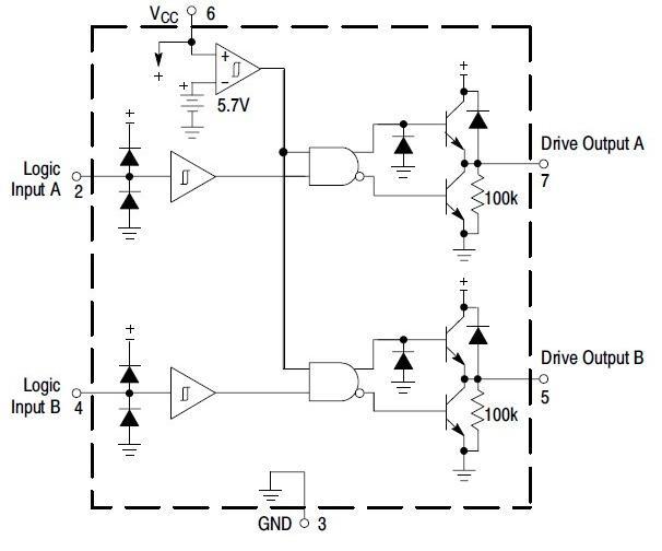 MC34152DR2G block diagram