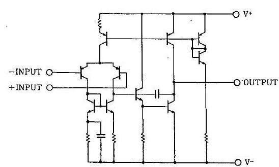 NJM2100D block diagram