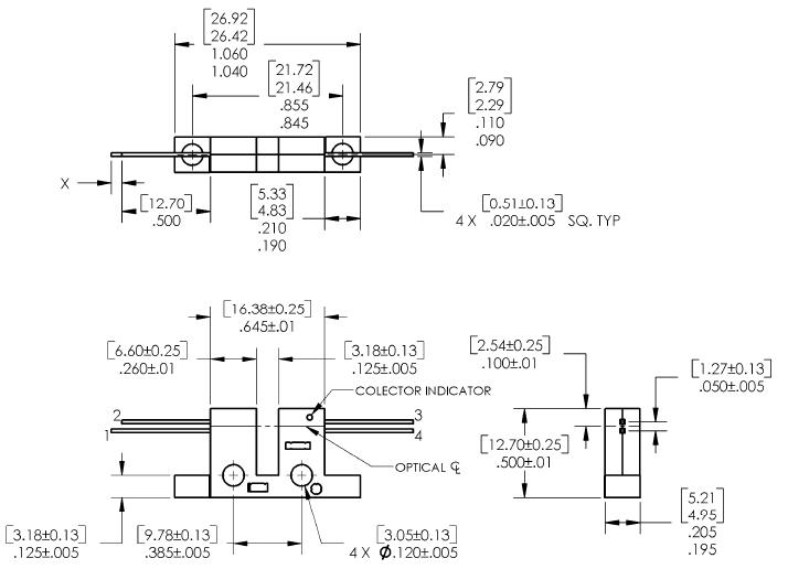 OPB806 block diagram