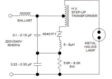 K2400G Circuit
