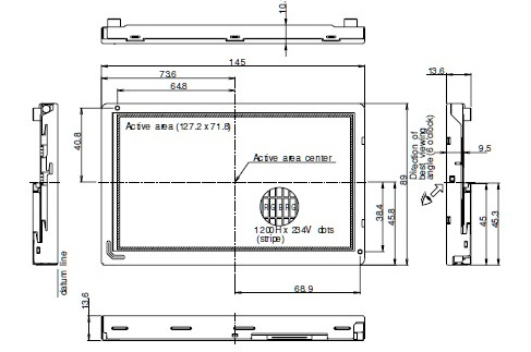 LQ6BW50N dimension