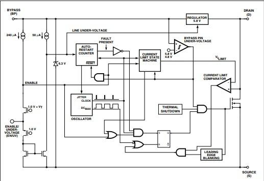 TNY266PN PMIC AC//DC Switcher Smps controlador Uin 85-265V DIP-8B 10W poder Integ